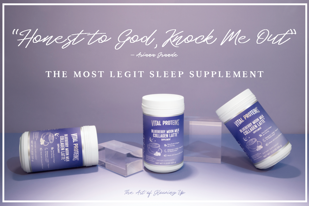I fell asleep INSTANTLY — Trying Vital Proteins Blueberry Collagen Moon Milk